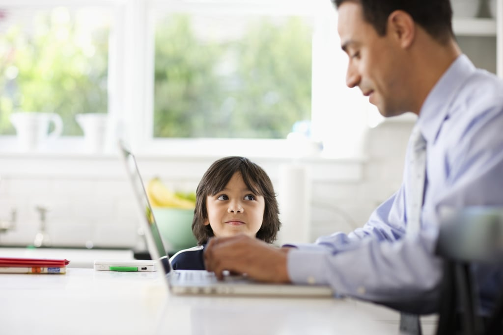 child support for self-employed parent
